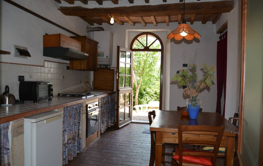 Location de vacances - Appartement à Radicondoli - KITCHEN