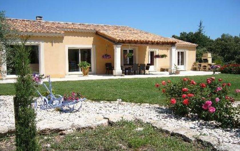 Location de vacances - Villa à Bonnieux