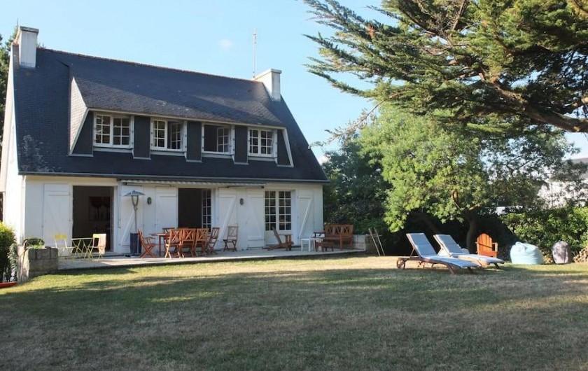 Location de vacances - Villa à Île-Tudy