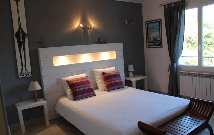 Location de vacances - Maison - Villa à Forcalqueiret - Chambre 3