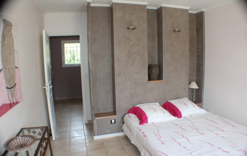 Location de vacances - Maison - Villa à Forcalqueiret - Chambre 2.