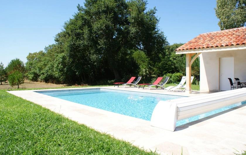 Location de vacances - Chambre d'hôtes à Saint-Léger - La piscine