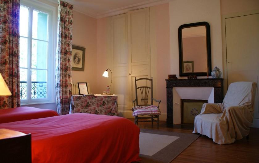 Location de vacances - Chambre d'hôtes à Saint-Léger - Chambre twin, climatisée