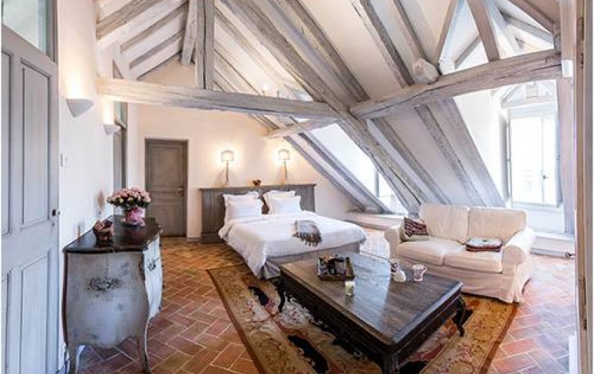 """Location de vacances - Chambre d'hôtes à Embrun - Chambre """"Bonbonnière"""""""