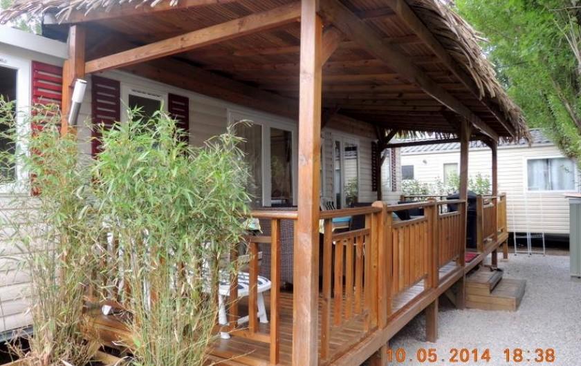Location de vacances - Bungalow - Mobilhome à Fréjus - EXTERIEUR