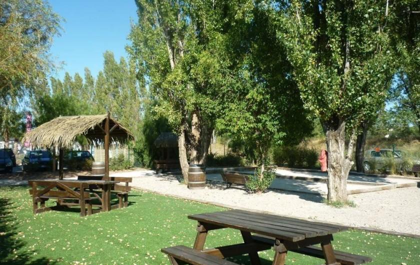 Location de vacances - Bungalow - Mobilhome à Fréjus - EXTERIEURS
