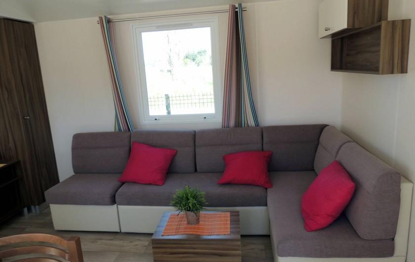 Location de vacances - Bungalow - Mobilhome à Fréjus - SALON
