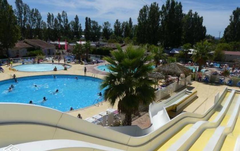 Location de vacances - Bungalow - Mobilhome à Fréjus - VUE D'ENSEMBLE