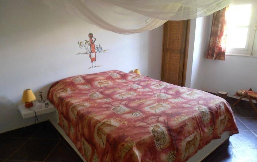 Location de vacances - Villa à Somone - bon repos !!la literie est au top!!