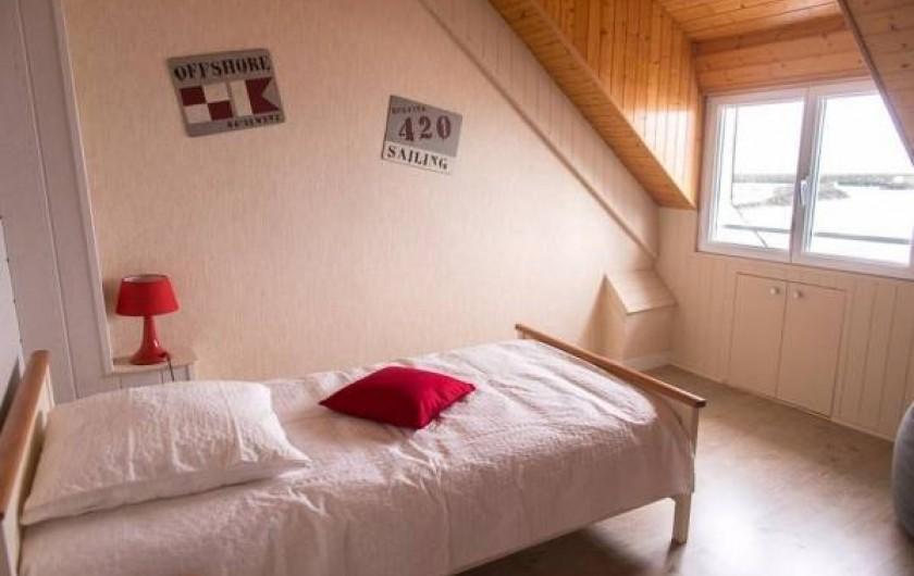Location de vacances - Chambre d'hôtes à Guilvinec - Chambre Corail, 2ème étage, vue splendide sur mer