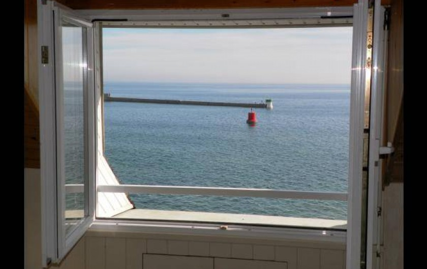 Location de vacances - Chambre d'hôtes à Guilvinec - vue du 2ème étage