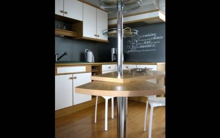 Location de vacances - Chambre d'hôtes à Guilvinec - Cuisine