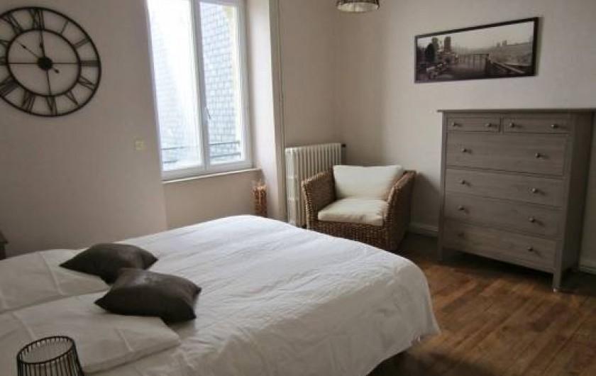 Location de vacances - Chambre d'hôtes à Guilvinec - Chambre Dune 1er étage vue splendide sur mer