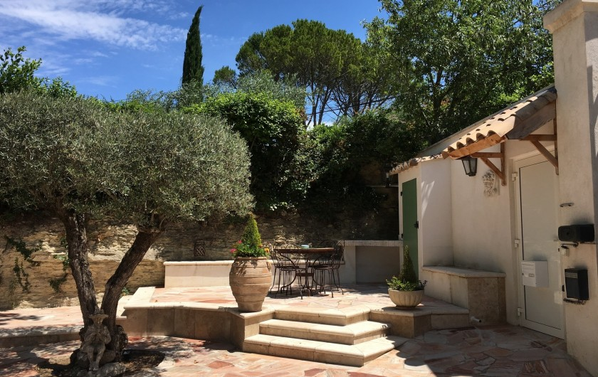 Location de vacances - Villa à Uzès - chambre 2 + bains wc 21 m²
