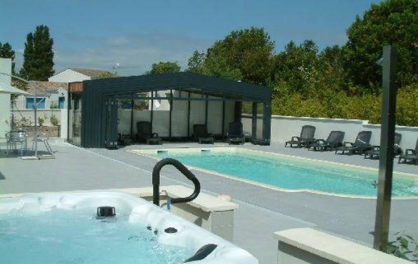Villa d 39 exception avec piscine et jacuzzi fouras en for Villa charente maritime avec piscine
