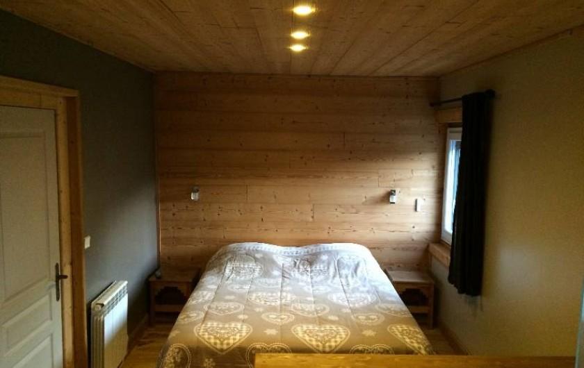 Location de vacances - Appartement à Saint-Gervais-les-Bains - Chambre 1,  suite parentale