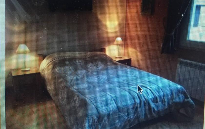 Location de vacances - Appartement à Saint-Gervais-les-Bains - Chambre 3 , grand lit