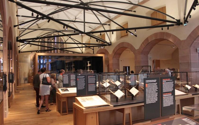 Location de vacances - Gîte à Nothalten - La bibliothèque humaniste de Sélestat