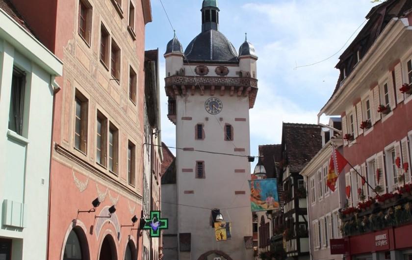 Location de vacances - Gîte à Nothalten - La tour des sorcières à Sélestat