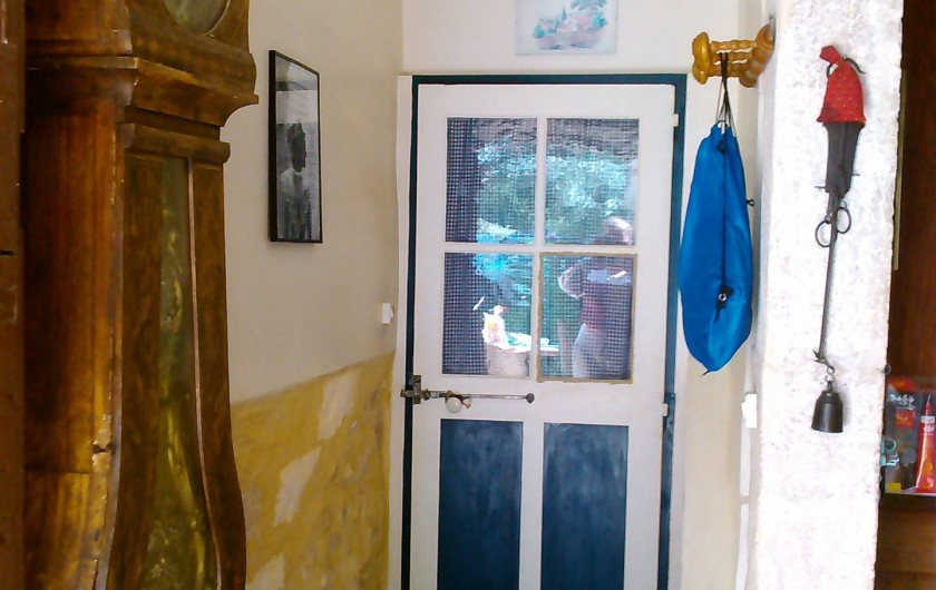 Location de vacances - Appartement à Cavaillon - entrée