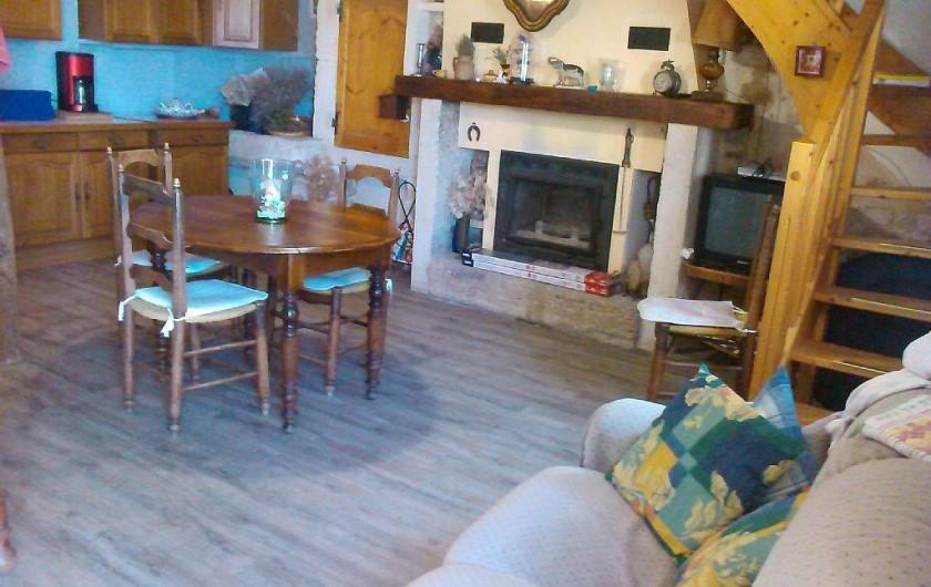 Location de vacances - Appartement à Cavaillon - salle à manger