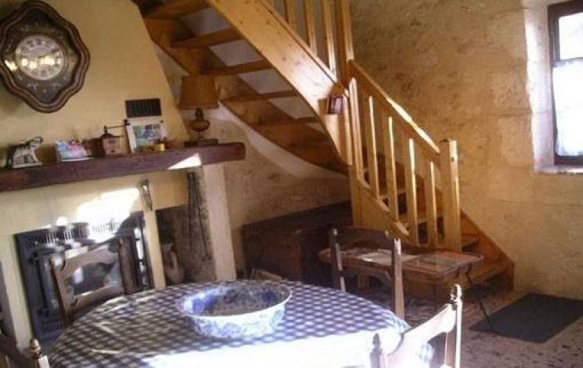 Location de vacances - Appartement à Cavaillon - montée vers les chambres