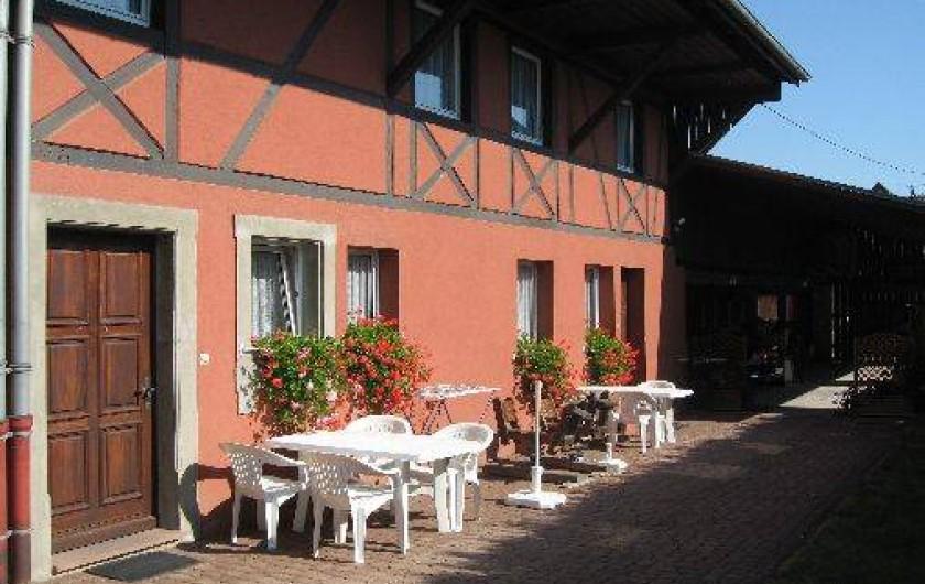 Location de vacances - Gîte à Wettolsheim