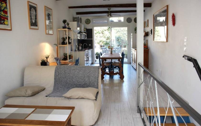 Location de vacances - Maison - Villa à Mèze - Premier étage