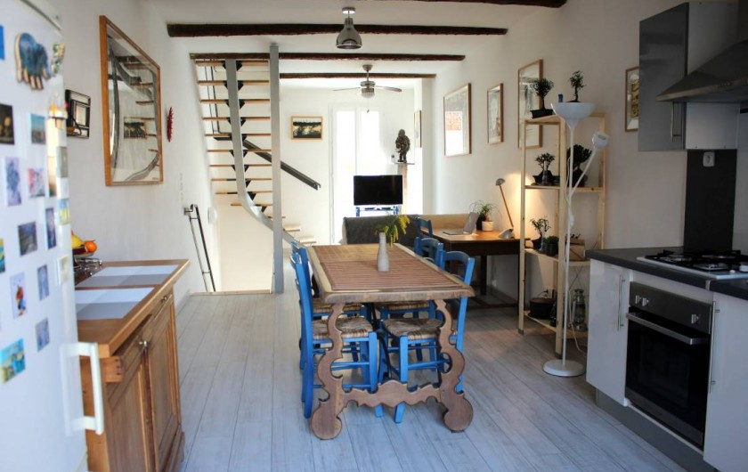 Location de vacances - Maison - Villa à Mèze - cuisine