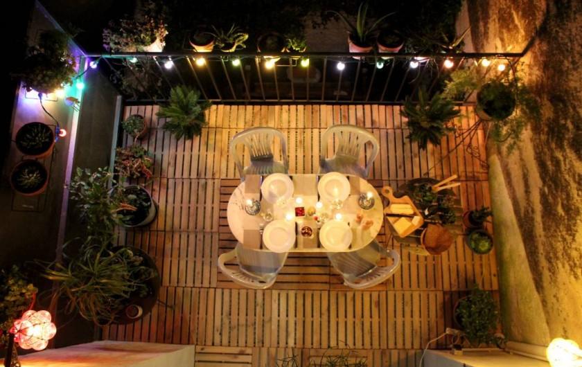Location de vacances - Maison - Villa à Mèze - terrasse dîner