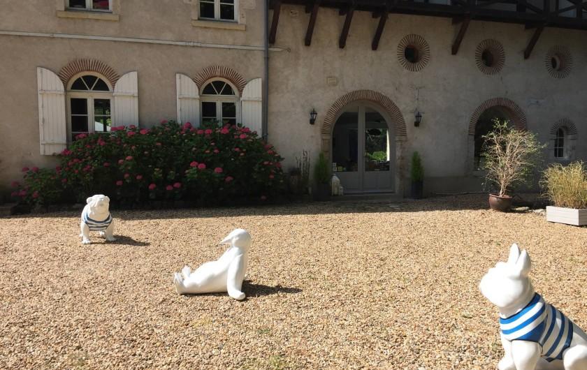 Location de vacances - Chambre d'hôtes à Olivet - Nos gardiens...
