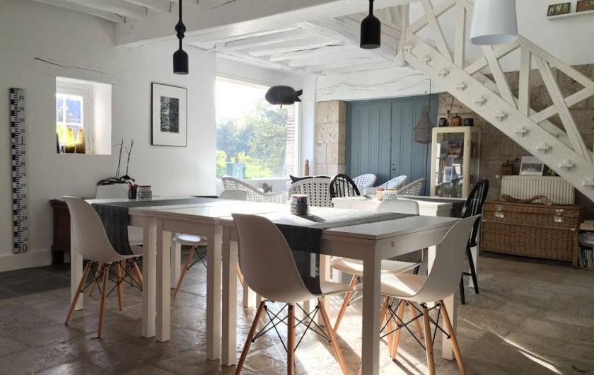 Location de vacances - Chambre d'hôtes à Olivet - Salle de petits déjeuners
