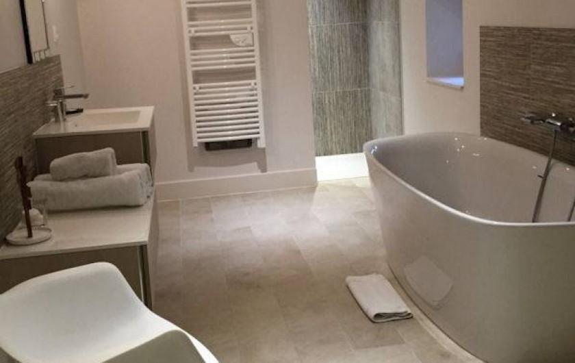 Location de vacances - Chambre d'hôtes à Olivet - Salle de bain