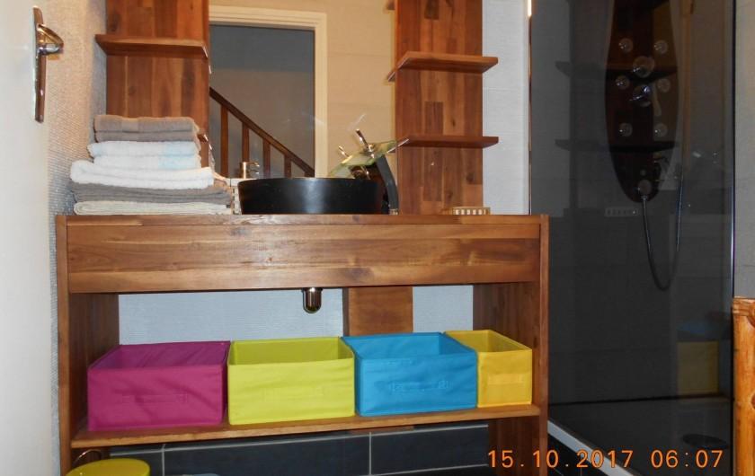 Location de vacances - Appartement à Saint-Gilles les Bains - SdB