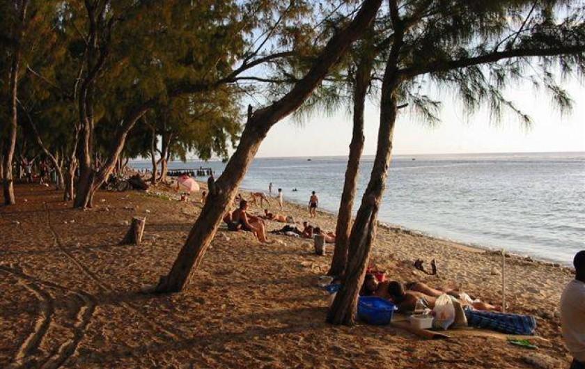 Location de vacances - Appartement à Saint-Gilles les Bains - La plage