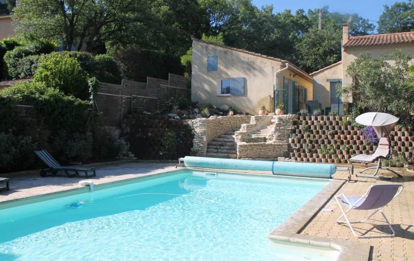 Location de vacances - Maison - Villa à Robion - La Piscine