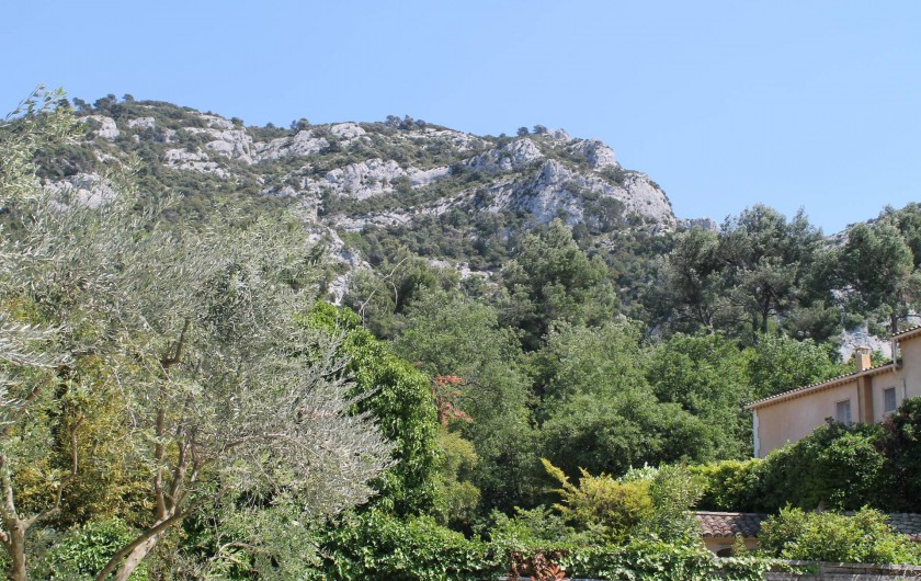 Location de vacances - Maison - Villa à Robion - Vue de la piscine