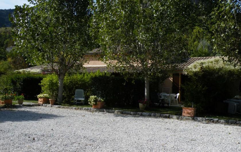 Location de vacances - Maison - Villa à Castellane - parking