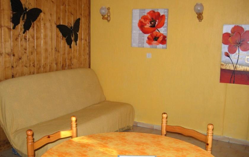 Location de vacances - Maison - Villa à Castellane - intérieur séjour