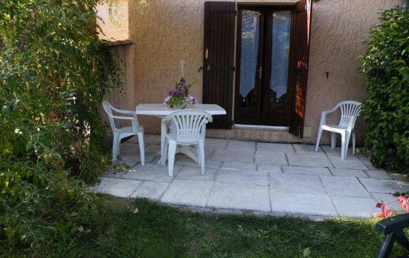 Location de vacances - Maison - Villa à Castellane - terrasse