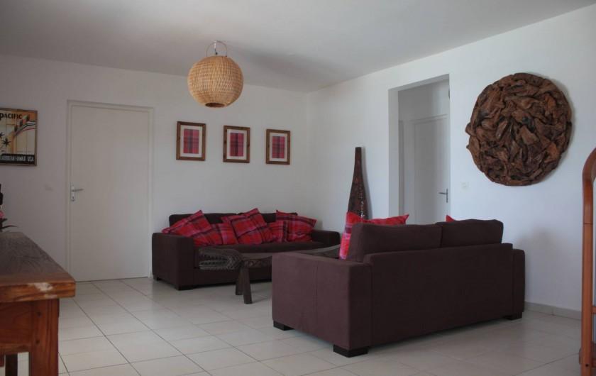 Location de vacances - Villa à Saint-François - 1er salon intérieur