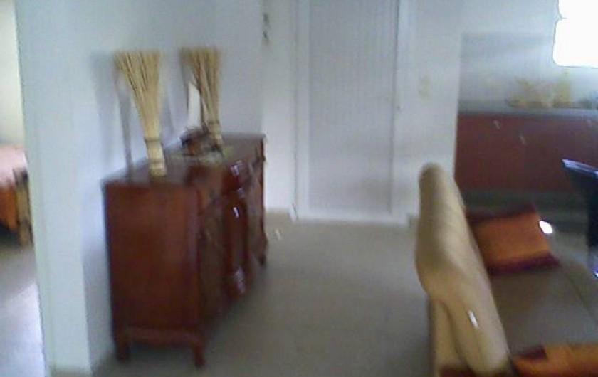 Location de vacances - Maison - Villa à Sainte-Anne - sale à manger-salon
