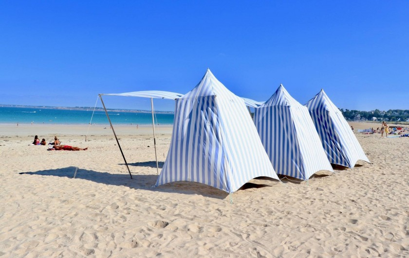 Location de vacances - Villa à Matignon - Grand Plage à Saint-Cast-Le-Guildo, les glaces de Tinou et le shopping!