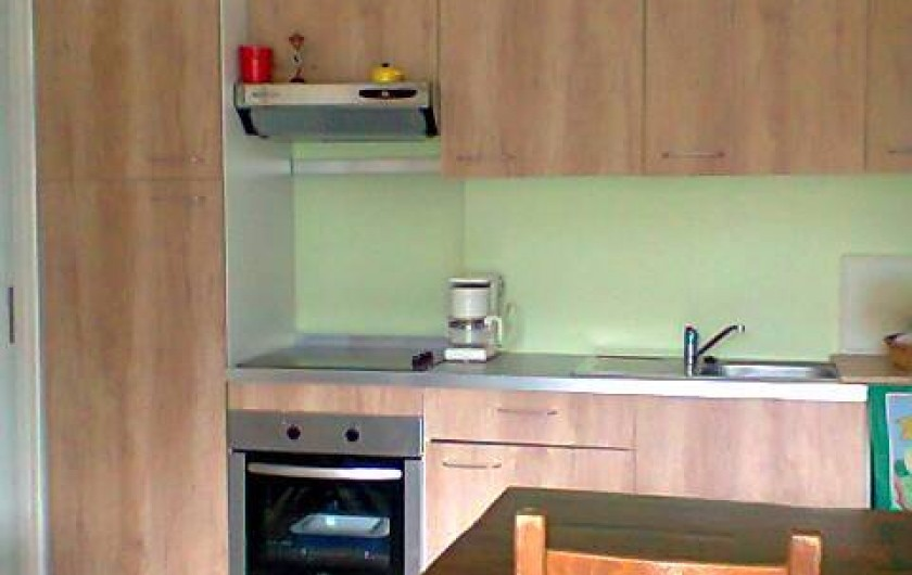 Location de vacances - Villa à Gujan-Mestras - cuisine américaine