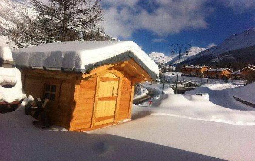 Location de vacances - Appartement à Lanslebourg-Mont-Cenis