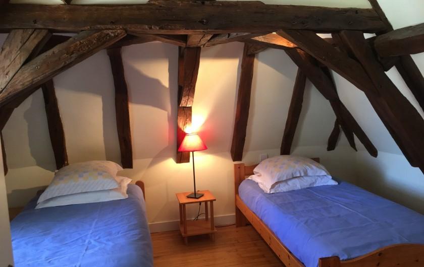 Location de vacances - Villa à Saint-Martin-des-Combes - Terrasse privée au 1er étage