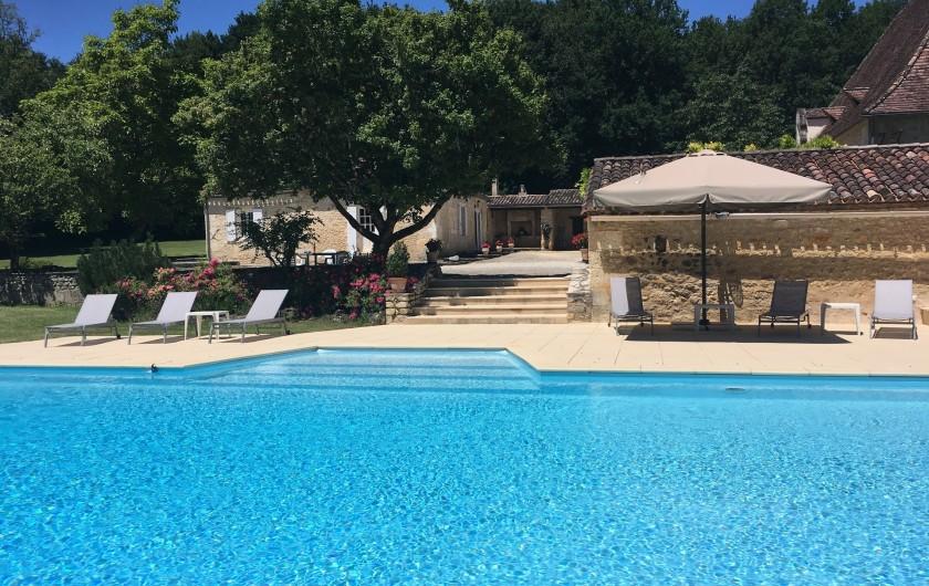 Location de vacances - Villa à Saint-Martin-des-Combes - Cuisine bien équipée