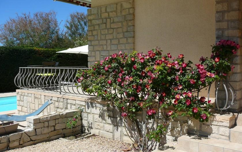 Location de vacances - Villa à Saint-Cyr-sur-Mer - entrée jardin