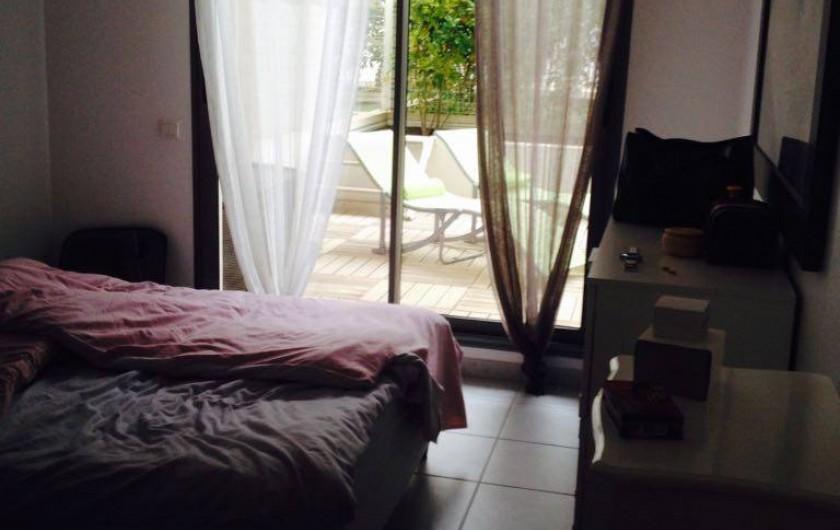 Location de vacances - Appartement à La Ciotat - Chambre parentale