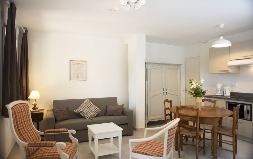 Location de vacances - Appartement à Martigues - Salon appartement